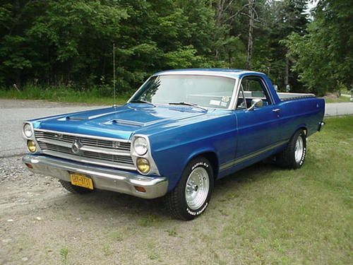 Find used 1966 FORD FAIRLANE RANCHERO in Lake Placid, New York