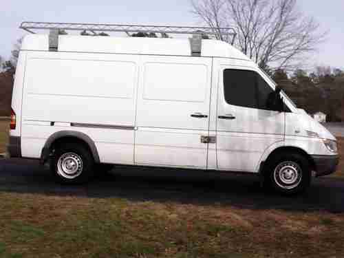 Find Used 2006 Dodge Sprinter 2500 Hi Roof 27l Ladder
