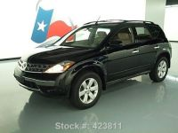 Find used 2006 NISSAN MURANO S ROOF RACK ALLOY WHEELS ONLY ...