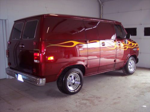 Purchase Used 1988 Chevy 10 Custom Party Van Old School