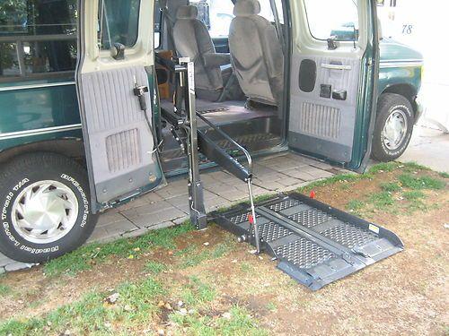 Buy Used 1994 Ford E 150 Handicap Conversion Van Braun