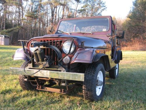 Sell new 1963 Jeep CJ5 Base 22L in Valley Center, California