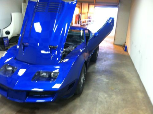 Purchase Used 1981 Chevy Corvette Custom In Salisbury