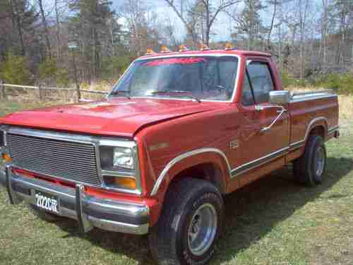 Buy used 1985 Ford F-150 XLT Lariat 4x4 in Eagle Rock, Virginia