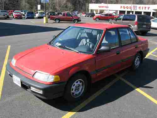 Sell used 1990 Honda Civic DX Sedan 4-Door with D15B Vtec Swap P28