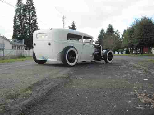 Sell used 1930 ford model a 2 door sedan hot rod rat rod in