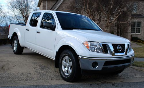 Buy Used Nissan Frontier Se Crew Cab 2009 White 43k Miles