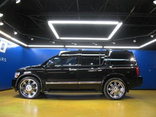 Sell Used Infiniti Qx56 2wd 24 Inch Wheels Dvd