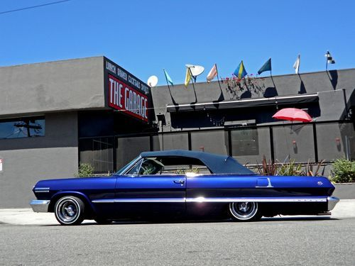 Lowrider Car Hd Wallpaper Sell Used Kobe Bryant S 1963 Chevrolet Impala Convertible