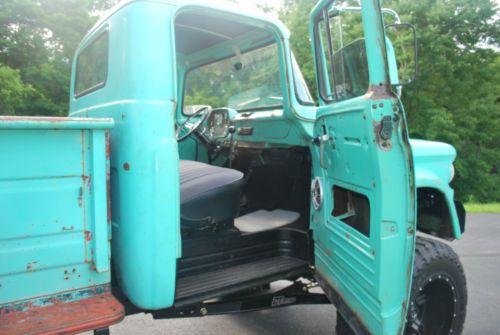 1960 Dodge W100 Power Wagon Cummins Powered Lifted Patina Rat Rod Us