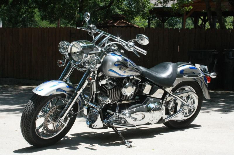Silver Harley-Davidson Softail for Sale / Find or Sell Motorcycles