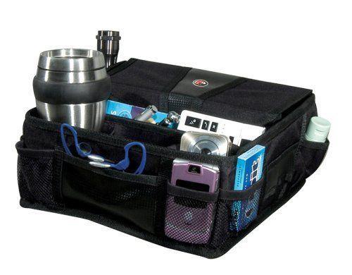 Buy Black Auto Console Organizer Portable Phone Cd Car