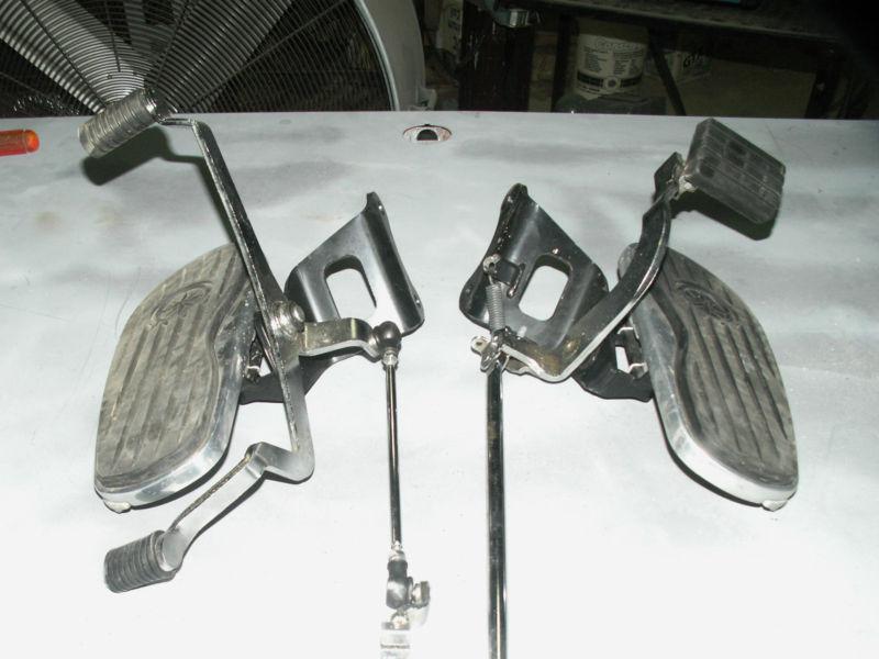 Sell 2009 Yamaha Vstar 650 Floor Boards With Brake Pedal
