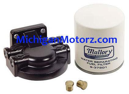 Purchase Mallory Water Separating Fuel Filter Kit - 9-37851