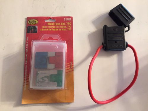 Sell Maxi Fuse Inline Fuse Holder 30 Amp Max And 7 Peice