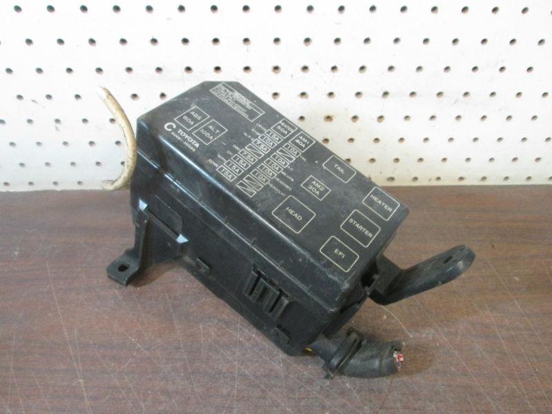 Find (TS51) 96 97 98 TOYOTA 4RUNNER FUSE BOX POWER DISTRIBUTION BOX