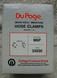 Buy 10 DuPage IDEAL Micro Seal Hose Clamps 33030 M6P SS 5 ...