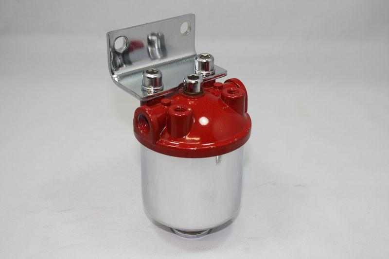Buy Inline Canister Style Large Fuel Filter Frame Mount 3/8 NPT