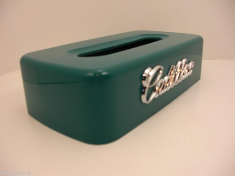 Buy Cadillac Teal Green Tissue Box Cover Custom Made Car
