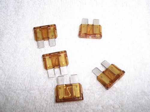 Buy Standard Ato Atc Blade Type Fuses 5 Amp Pkg 10