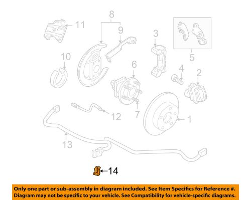 Sell GM OEM Brake-Rear-Wire Harness Retainer 12052834 motorcycle in