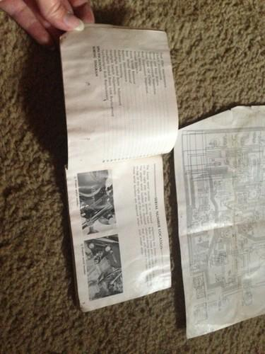 Sell 1975 Honda Goldwing GL1000 Manual Wiring Schematic motorcycle