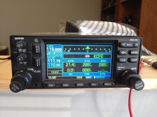 Buy GARMIN GNS-430 GPS/NAV/COM WITH TERRAIN motorcycle in