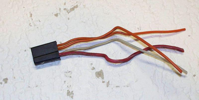 Purchase 1968 - 1970 GTX Road Runner Charger Radio Wiring Plug 69
