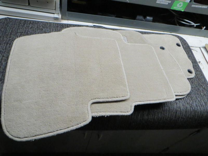 Buy Saab 9 5 Carpet Floor Mats Oem Tan Beige 99 00 01 02