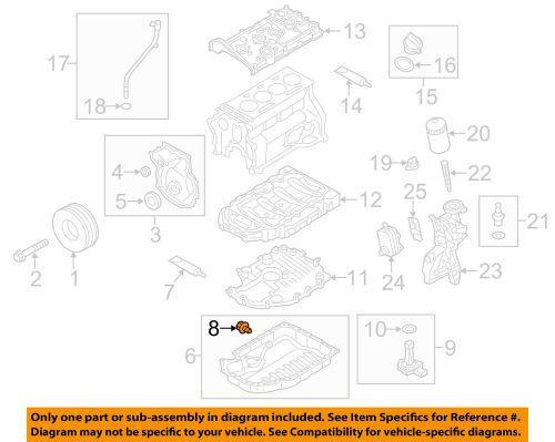 Buy AUDI OEM 11-12 Q5 Engine Parts-Drain Plug N91101402 motorcycle