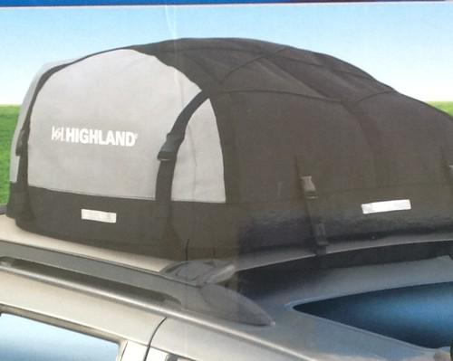 Purchase Highland Expandable Soft Sided Car Suv Van Roof Top Cargo Carrier New Motorcycle In