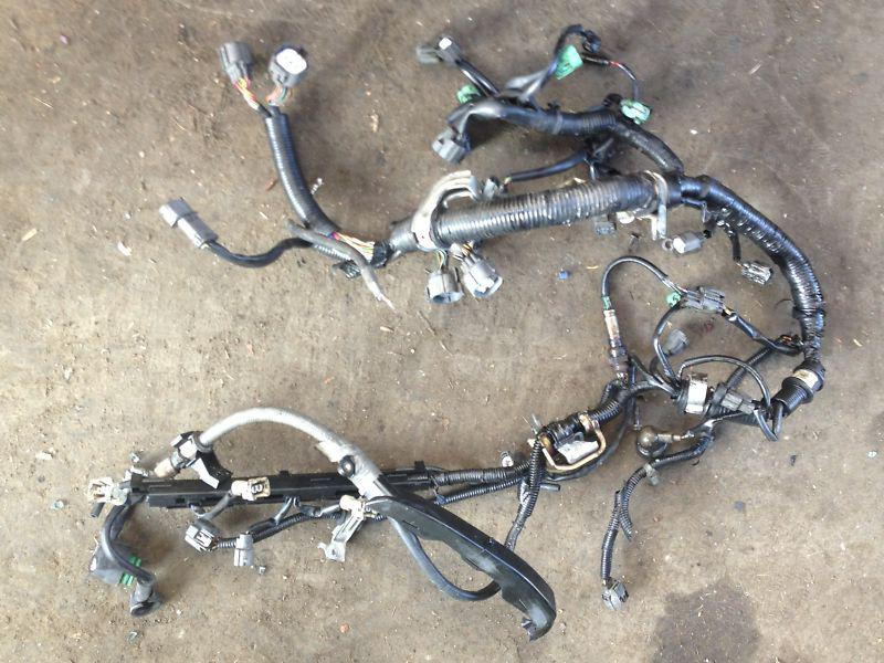 Sell 92 Honda Prelude SI OEM H23A 23 Liter Engine Wiring Harness AT