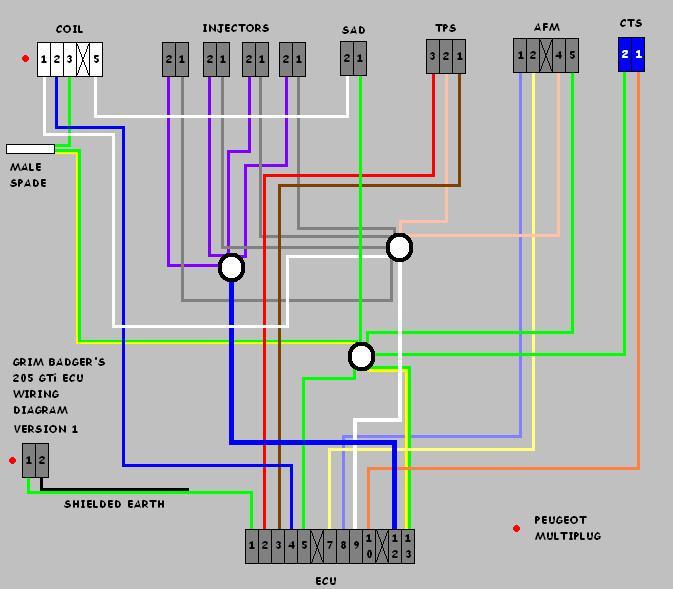 Ecu Wiring Diagram - XU 8v Engine Maintenance and Performance