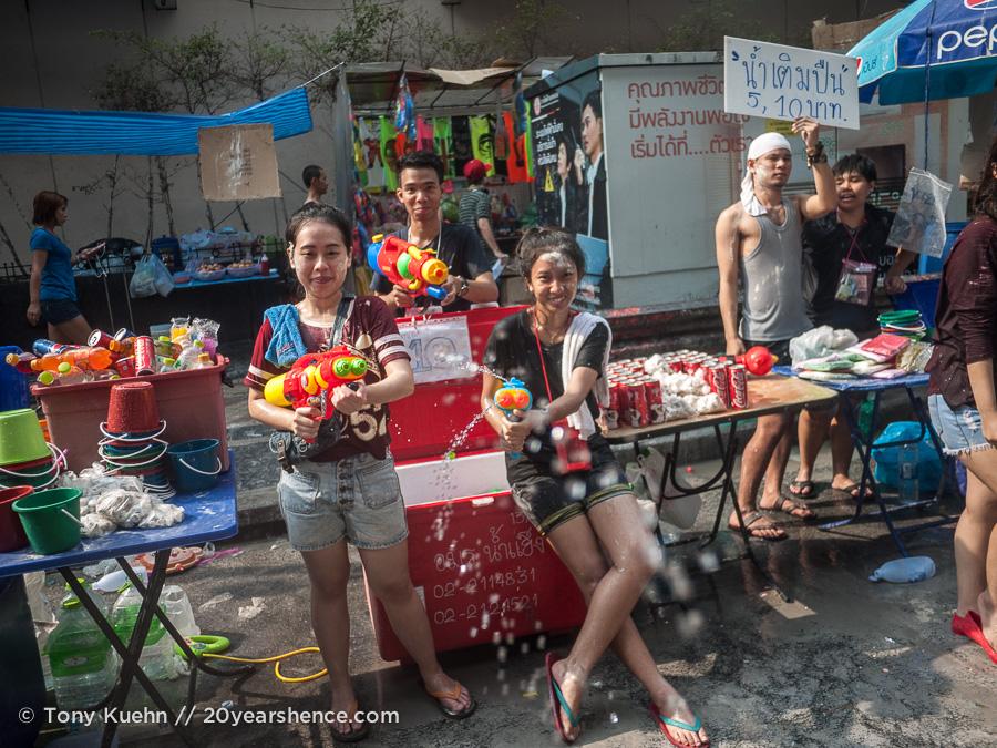 Songkran, Bangkok, Thailand