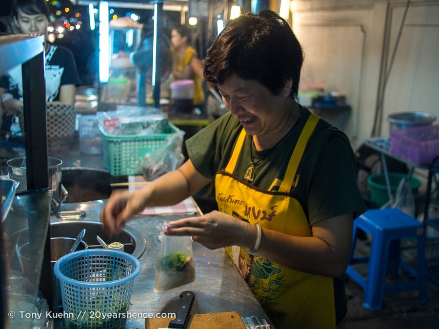 Food vendor, Nong Khai, Thailand