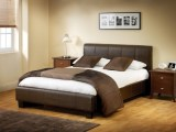 Leather Model Bed