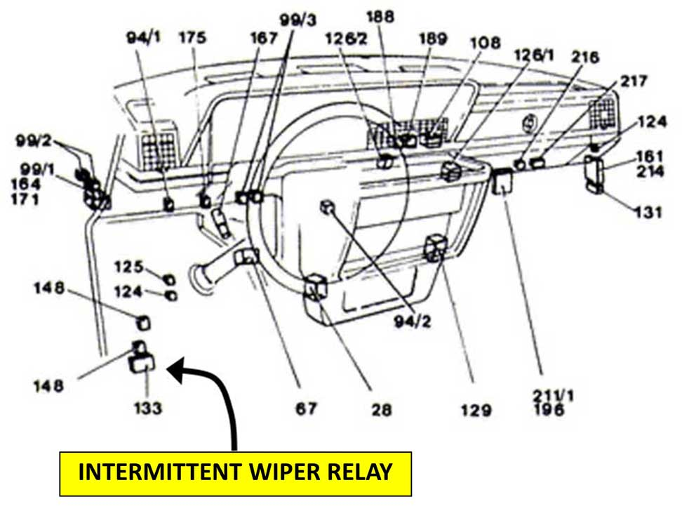 volvo 240 wiper wiring diagram
