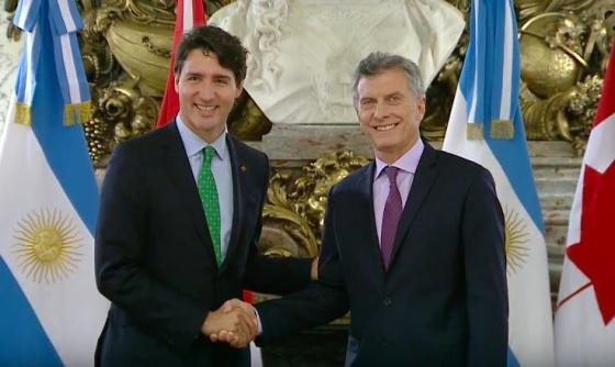 La minería, el comercio y la diversidad, ejes del discurso de Trudeau