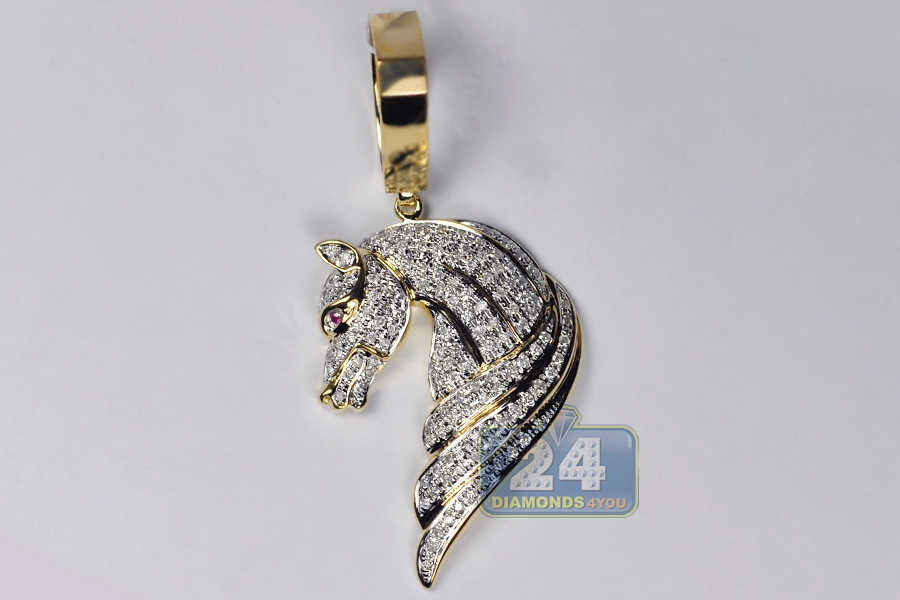 Diamond horse necklace traumspuren ciao accessories aloadofball Choice Image