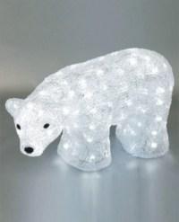 FY-001-C05 christmas acrylic POLAR BEAR light bulb lamp