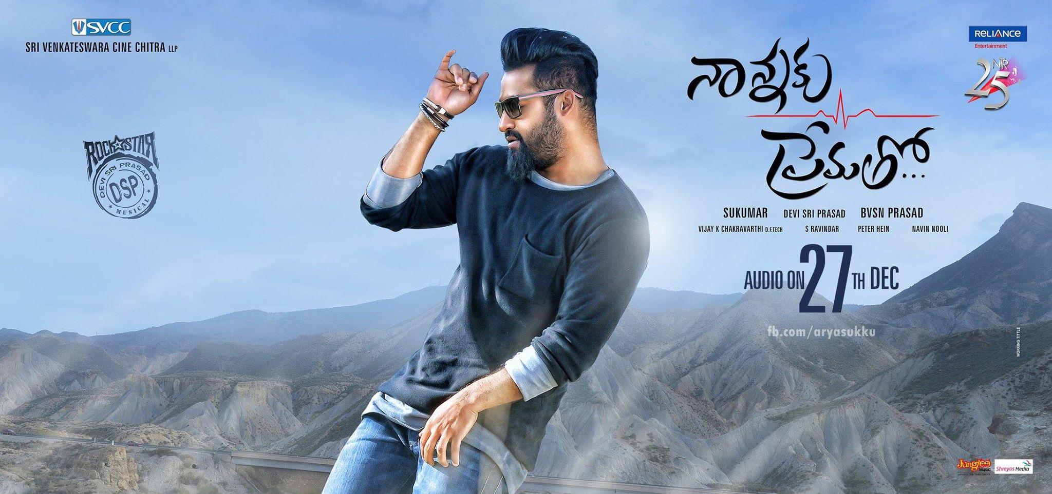 Jr Ntr Hd Wallpapers Jr Ntr Nannaku Prematho Movie First Look Ultra Hd Posters