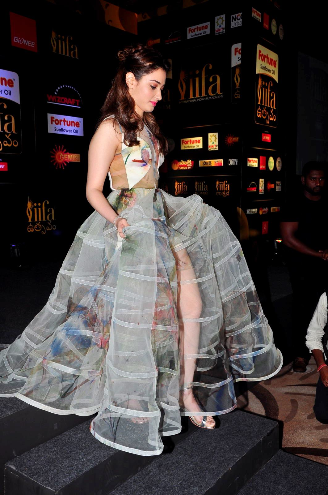 Cute Brand Wallpapers Actress Tamanna Bhatia Hot Hd Photos At South Iifa Utsav