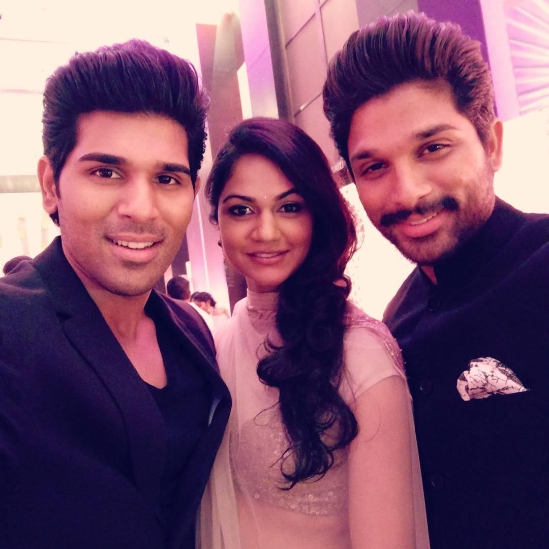 Jr Ntr Hd Wallpapers Allu Arjun Family Photos Stylish Star Wife Sneha Reddy