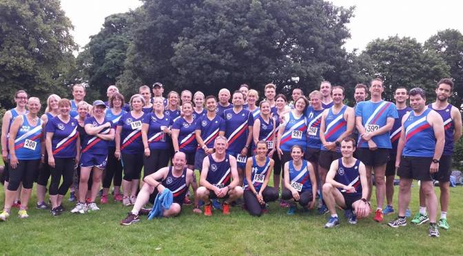 Mob Match vs Elmbridge @ Kingston parkrun – 16th July 2016