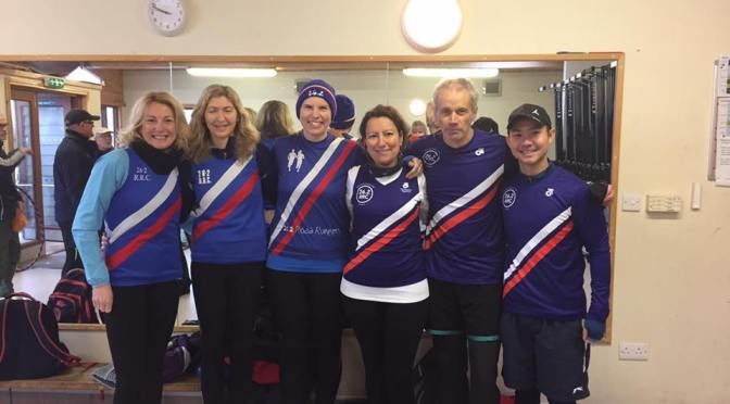 Rowing victory for 26.2 ladies