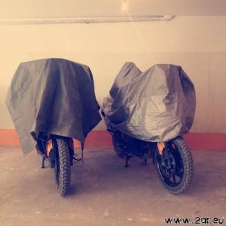 Sicheres Parken bei einem Freund in La Paz