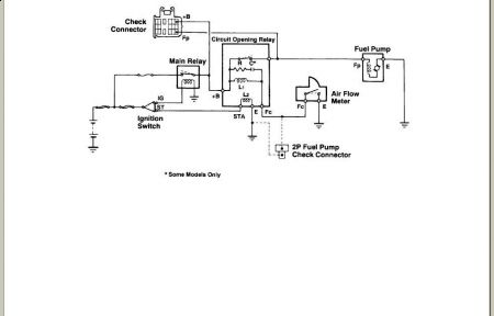 1992 Toyota Pickup Fuel Pump Operation Very Frustrated Problem