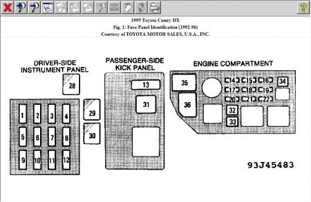 2010 Toyota Yaris Fuse Box Wiring Diagrams