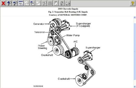 chevy impala engine diagram