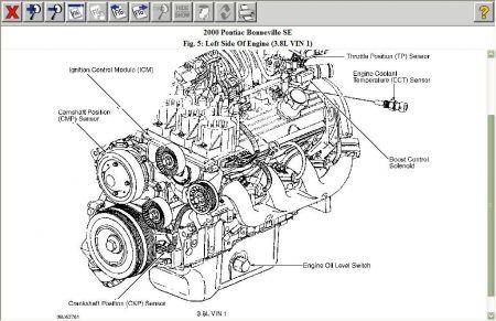 gm 4 2l engine diagram